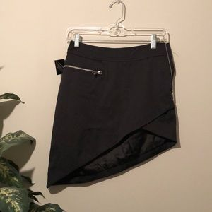 Nasty gal black mini skirt